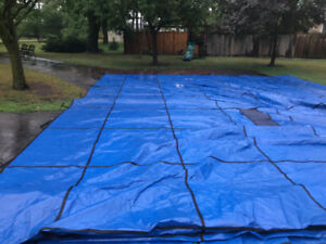 18x38 Safety Cover for Pool