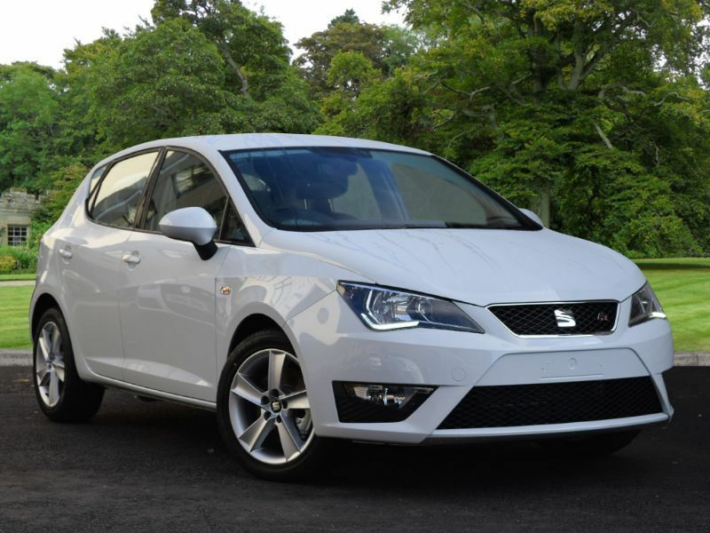 seat ibiza 1 2 tsi fr 5dr white 2016 in county antrim gumtree. Black Bedroom Furniture Sets. Home Design Ideas