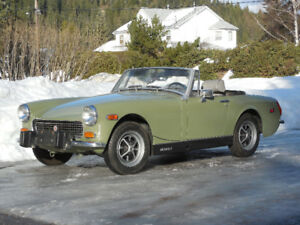 Wanted MG Midget Bumpers to fit a 1974 model year.