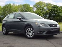 SEAT Leon 1.6 TDI SE 5dr (start/stop) (grey) 2013