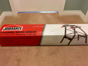 New-In-Box Jobmate Workbench (*work table, work bench)