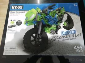 NEW KNEX MOTORCYCLE SET