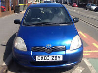 Toyota Yaris 1.0 VVTi Blue 2003MY Colour Collection