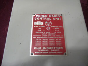 wire radio control unit-STRATHROY London Ontario image 3