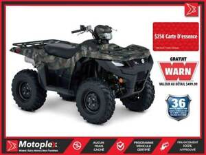 2019 Suzuki KingQuad 750AXi Power Steering Camo EPS