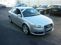 2007 Audi A4 1.8T Multitronic 163bhp S Line Finance Available
