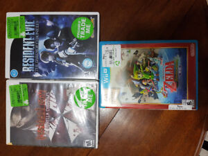 Wii and Wii U Games