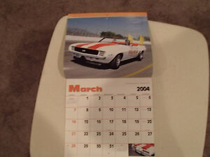 New 2004 MUSCLE THUNDER CAR CALENDAR. Sarnia Sarnia Area image 3