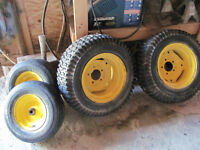 Rims and tires for Sears Suburban Tractor