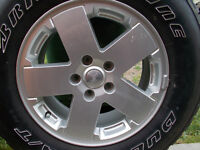 18 inch Factory Rim Off A 2012 Jeep / JUST LIKE NEW
