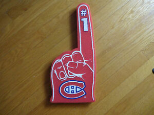 Montreal Canadians Car flag and Finger Foam West Island Greater Montréal image 4