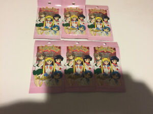Sailor Moon Trading Stickers Series 1 -6 sealed pack of 6.