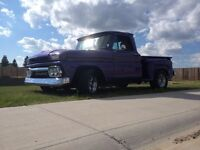 REDUCED!! 1964 Short box Step Side GMC or partial trade?