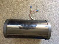 """Bass tube/box and amp, 8"""""""