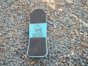 Vintage Dominion Skateboard Off the Wall