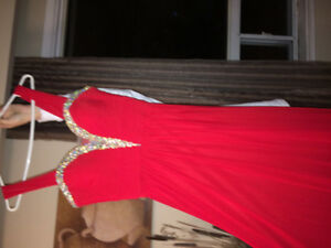 2 beautiful evening gowns