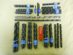 TWIST DRILLS - JOBBERS LENGTH (FOR METAL) - NEW