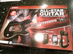 Ion All Star Guitar For Iphone Ipad And Ipod Touch *New* $10