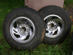 16 INCH FORD TRUCK TIRES AND RIMS