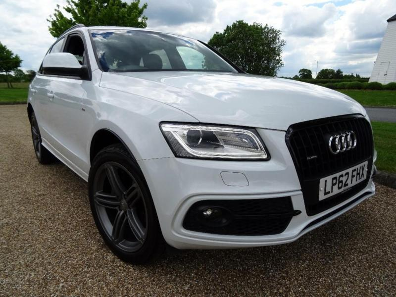 2013 audi q5 tdi quattro s line plus diesel white automatic in orpington london gumtree. Black Bedroom Furniture Sets. Home Design Ideas