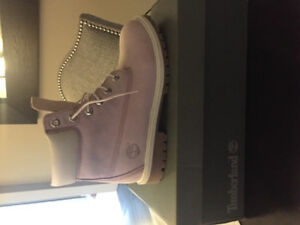 Brand New Pink Timberlands