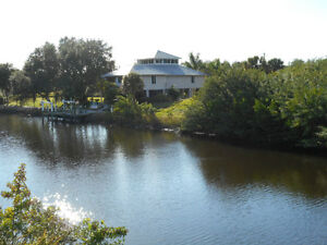 Port Charlotte Florida Water Front Building Lot $69,900 Usd.