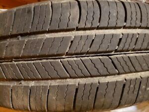 (SOLD) Michelin Tires and Steel Rims 175/65R14 $100 for all 4