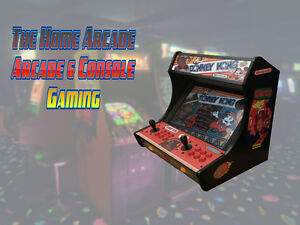 New The Home Arcade Bartop Cabinet with over 6,500 games & Wty