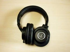 Audio-Technica ATH-M40x Professional Headphones, Black