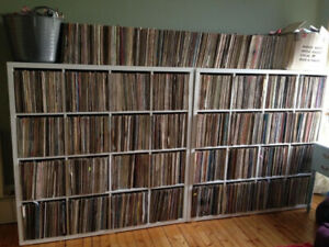 VINYL RECORD COLLECTION LIQUIDATION, EVERYTHING FOR 1$ TO 5$