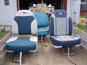 Three boat seats for sale - - SOLD - THANKS KIJIJI - SOLD