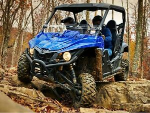 YAMAHA SIDE BY SIDE AND ATV DEMO RIDES