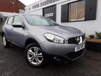 NISSAN QASHQAI ACENTA, Grey, Manual, Petrol, 2011