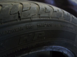FOUR GENERAL TIRE 195 60 15 London Ontario image 3