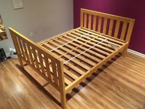 Wooden Full/Double Bed Frame