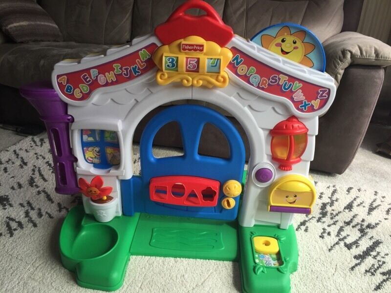 Fisher Price Laugh And Learn Musical Activity Door In Nuneaton