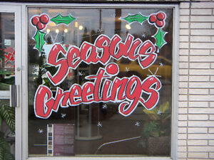 Sign and Window Advertisement Painting Kitchener / Waterloo Kitchener Area image 4
