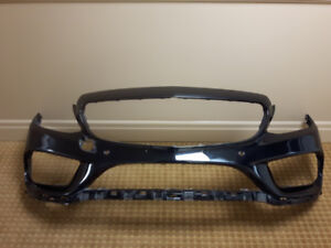 2018 Mercedes C300 front bumper cover and right fender