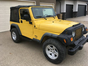 2004 Jeep TJ SUV, Crossover
