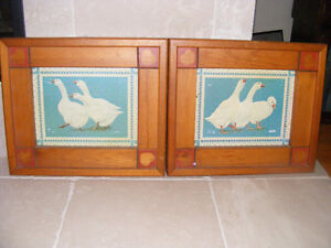 Framed Geese Pictures North Columbia Trading Co Ltd