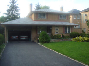 Execlusive House for lease ***  Royal York / Lawrence
