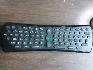 Wireless motion remote mouse and keyboard for Pc