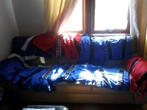 Used Boxing Competition Clothes - Trunks and Tops - Red & Blue London Ontario image 1