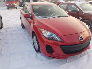 2012 Mazda 3 sky-active certified  great on gas. $6999