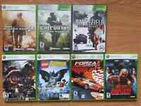 X-Box 360 games for sale