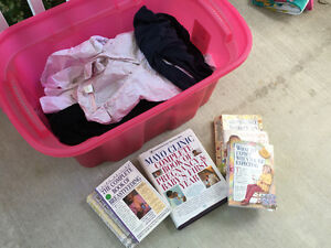 $10 for lot Thyme Maternity Clothes - books and shirts and pants