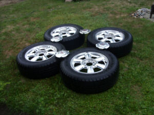 gm rims and goodyear tires