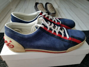 Genuine Gucci Suede Shoes Size 11