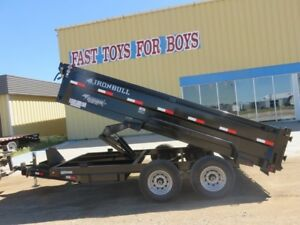 2018 Iron Bull Trailers DTB8314072