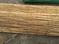 For Sale Natural Bamboo Screening